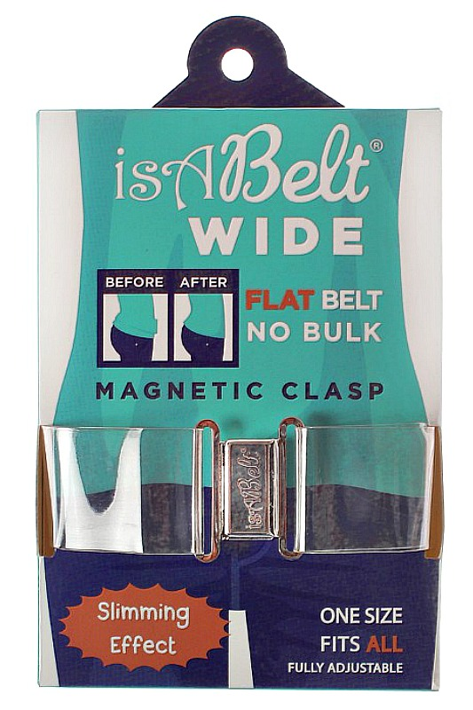 The Flat Belt Buckle - isABelt Clear