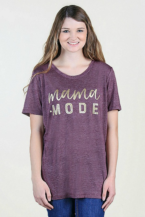 Plus Size Mama Mode Tee