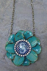 Go Mariners Flower - Dots