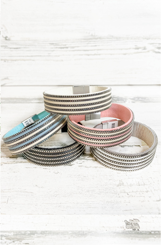 Pretty Little Lines Magnetic Bracelet