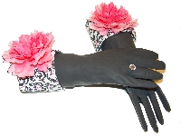 Diva Dish Gloves� Domestic Goddess! Baroque-diva dish gloves, pink peony, kitchen fashionista, best gifts, baroque