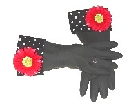 Diva Dish Gloves� Pretty In Sink!