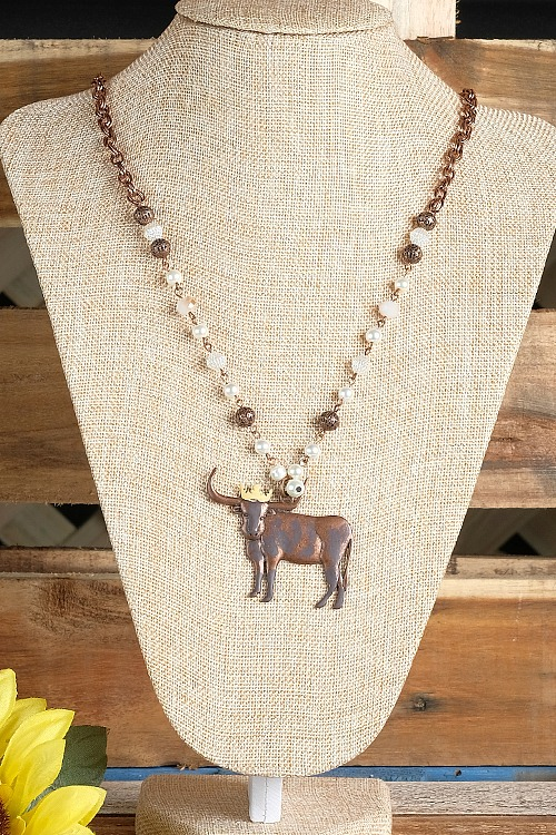 Royal Longhorn Necklace