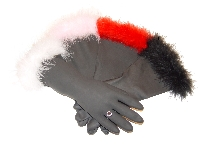 Diva Dish Gloves� I'm Too Sexy...For My Kitchen!-I'm Too Sexy...For My Kitchen! Diva Dish Gloves, marabou trim