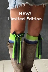 Little Boot Peep®  TEAM Seahawks Tie Dye Boot Toppers