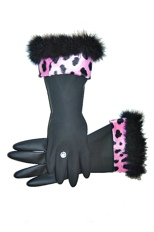 Diva Dish Gloves - Too Posh To Wash!