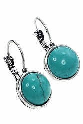 Turquoise Round Up Earrings